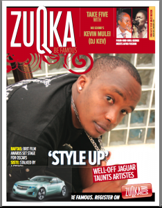 Zuqka Magazine Cover